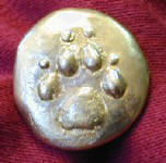 Dog Paw Button
