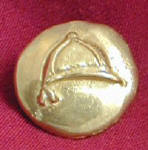 Hunt Cap  Bronze Button