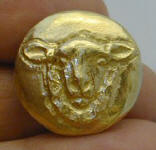 Sheep Button, front view