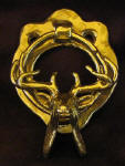 Whitetail Buck Small Door Knocker