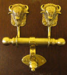 Bison Duet Door Knocker