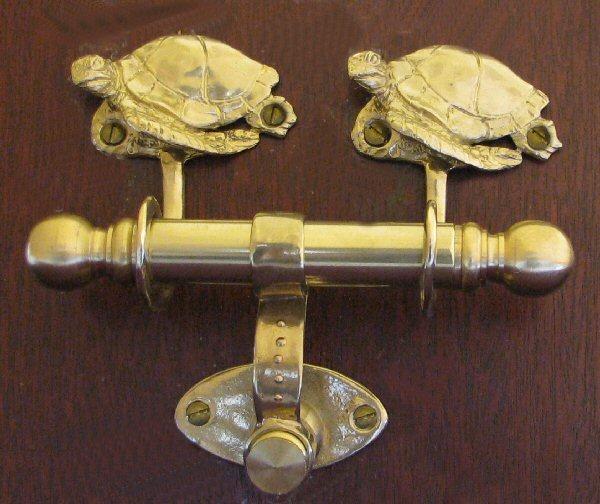 Animal duet door knockers page 3 - Turtle door knocker ...