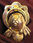 Beaver Small Door Knocker