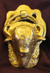 Bison Small Door Knocker