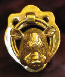 Wild Boar Small Door Knocker