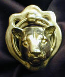 Cougar Door Knocker