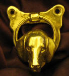 American Foxhound Small Door Knocker