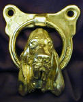 Bloodhound Door Knocker