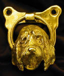 Otterhound Door Knocker