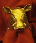 Wild Boar Napkin Ring