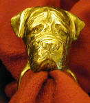 Bullmastiff 2009 Napkin Ring