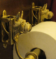 Boxer (cropped) Toilet Paper Holder