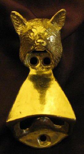 FOX Wall Mounted Bottle Opener in Bronze, Fox Hunting | eBay