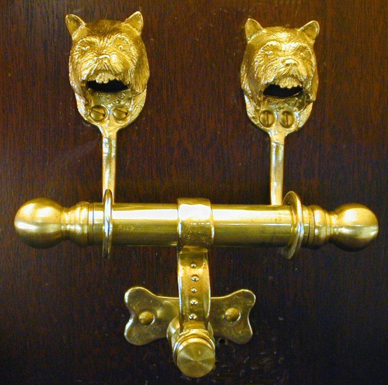 Dog Duet Door Knockers Page 5