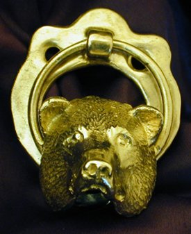 Bear Door Knocker ...