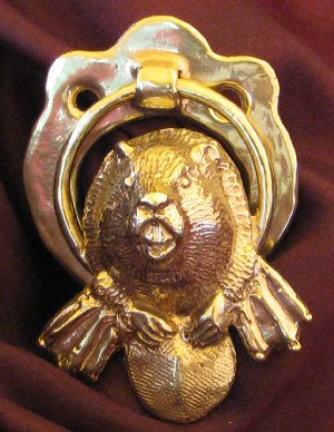 Superbe Beaver Small Door Knocker ...